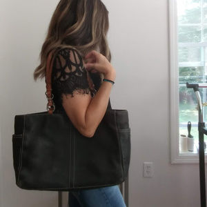 Coach Pebbled Leather Chelsea Tote Purse